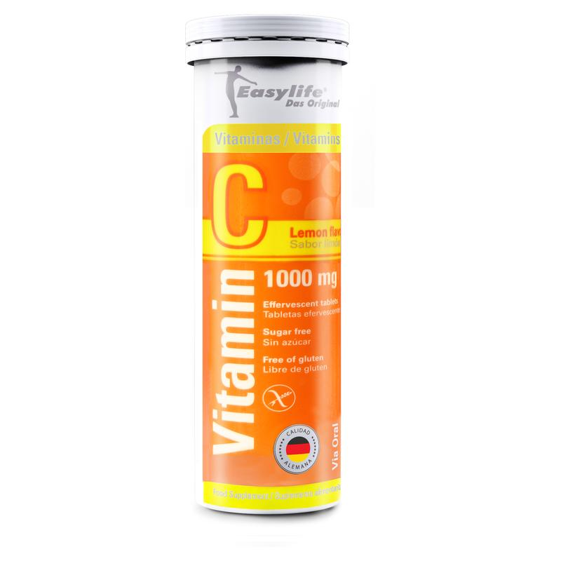 Easylife Vitamina C 1.000mg x 10 tab eferv.